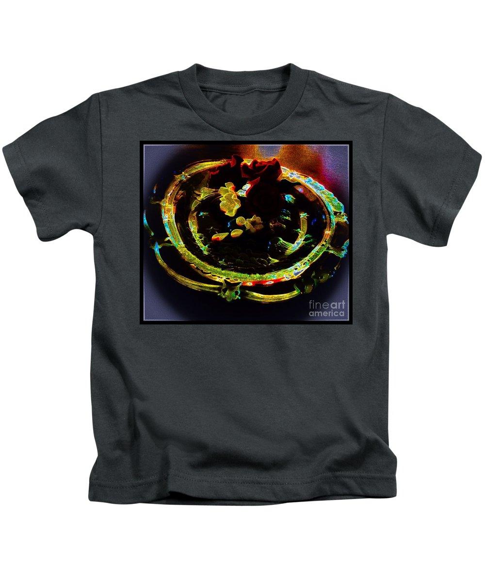 Still Kids T-Shirt featuring the photograph Still Life Abstract by Debra Lynch