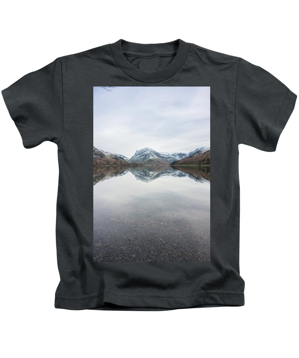 Lake Kids T-Shirt featuring the photograph Still Waters by Christopher Carthern