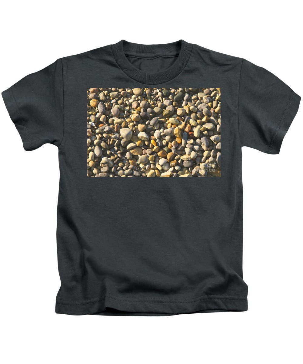 Stones Kids T-Shirt featuring the photograph Stones by Robert Pearson