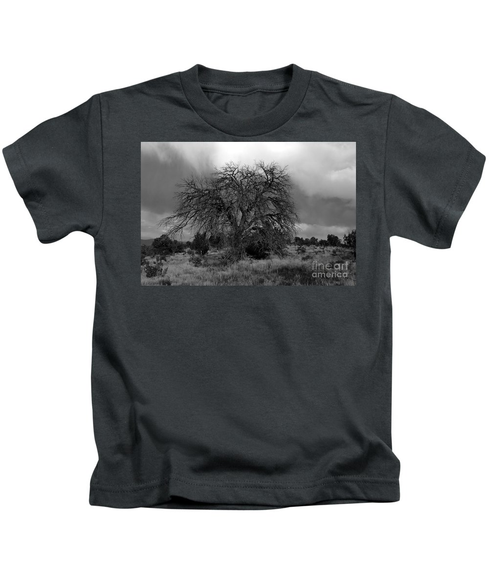 Storm Kids T-Shirt featuring the photograph Storm Tree by David Lee Thompson