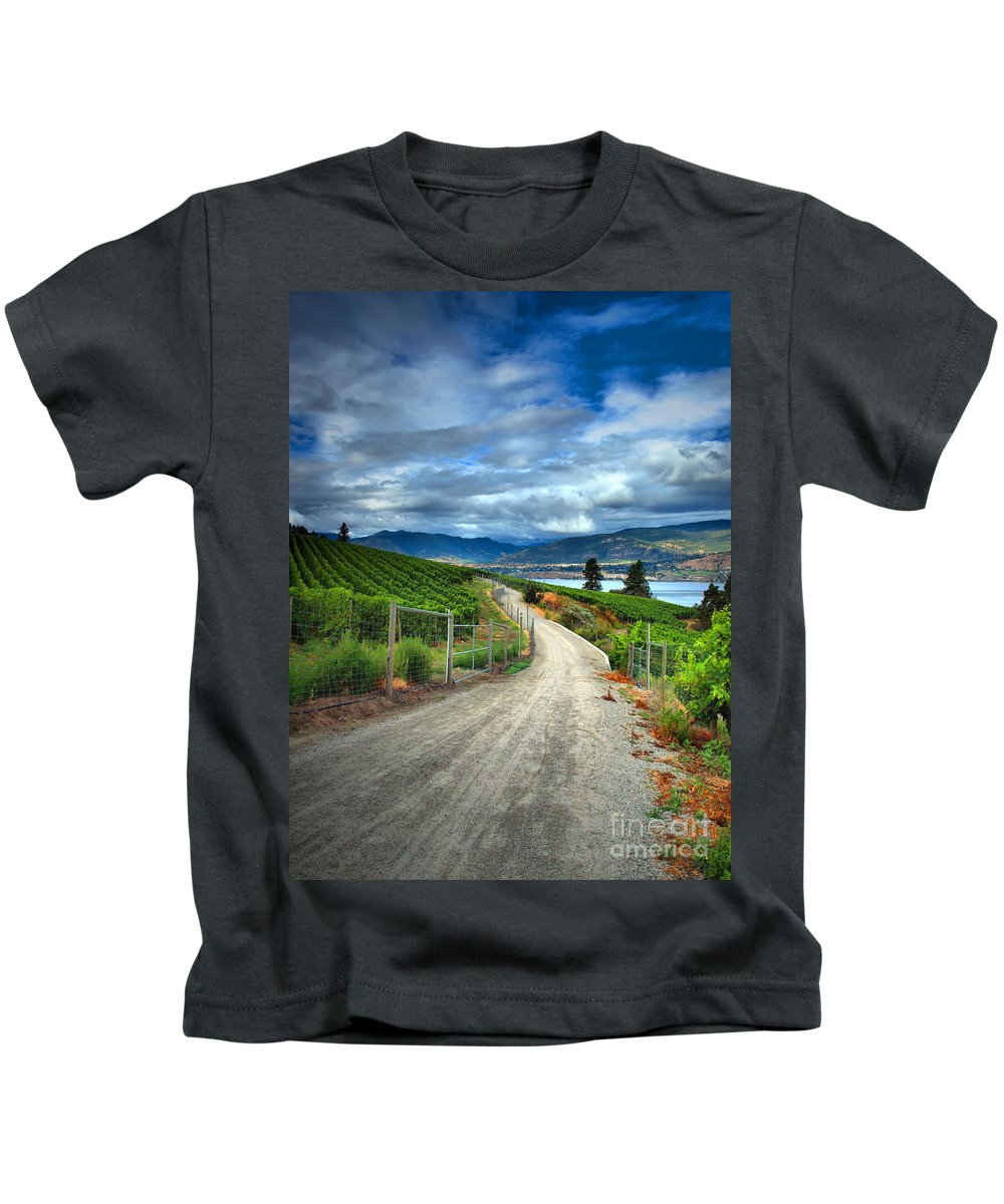 Road Kids T-Shirt featuring the photograph Summer Passages by Tara Turner