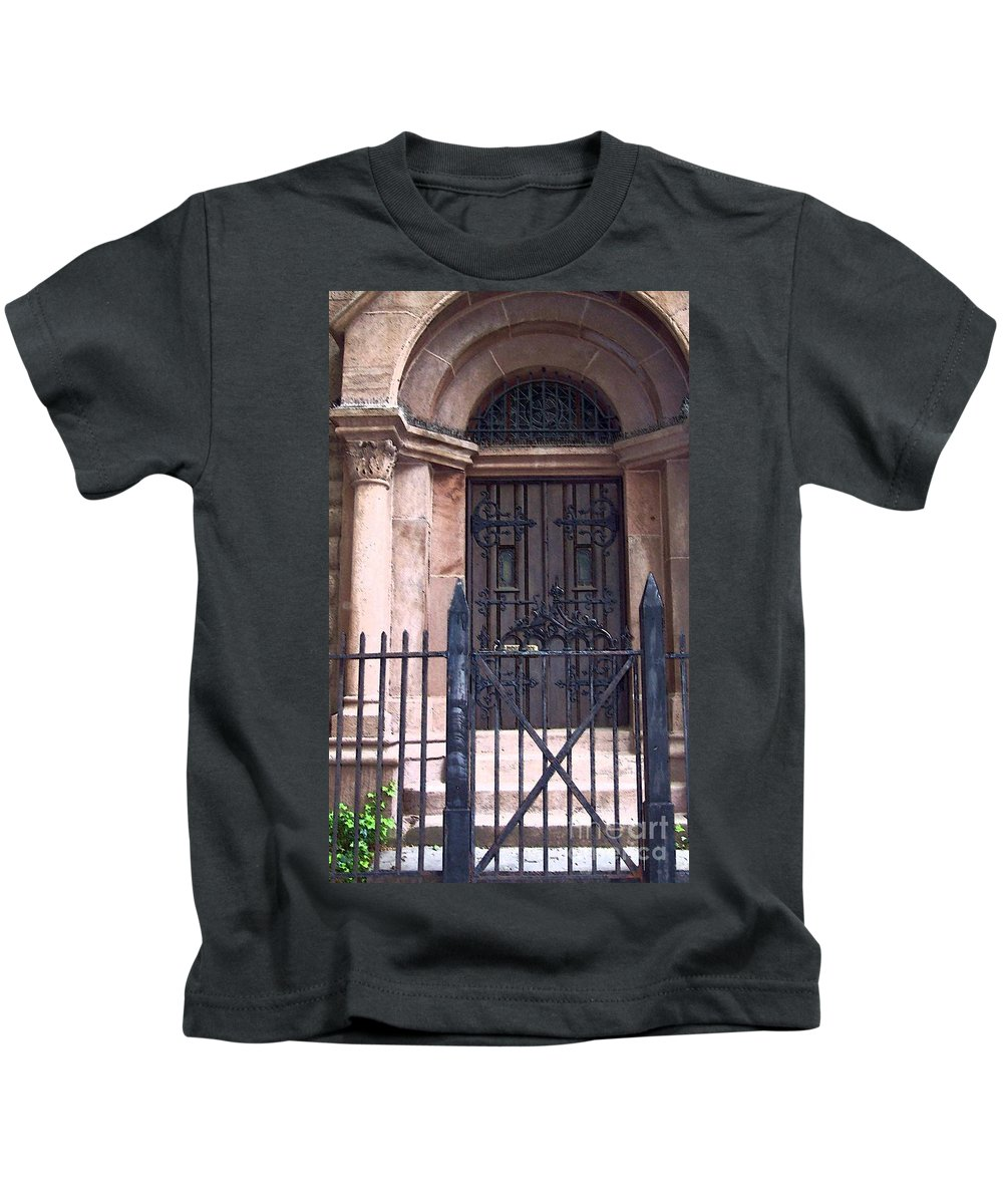 Church Kids T-Shirt featuring the photograph Sunday by Debbi Granruth