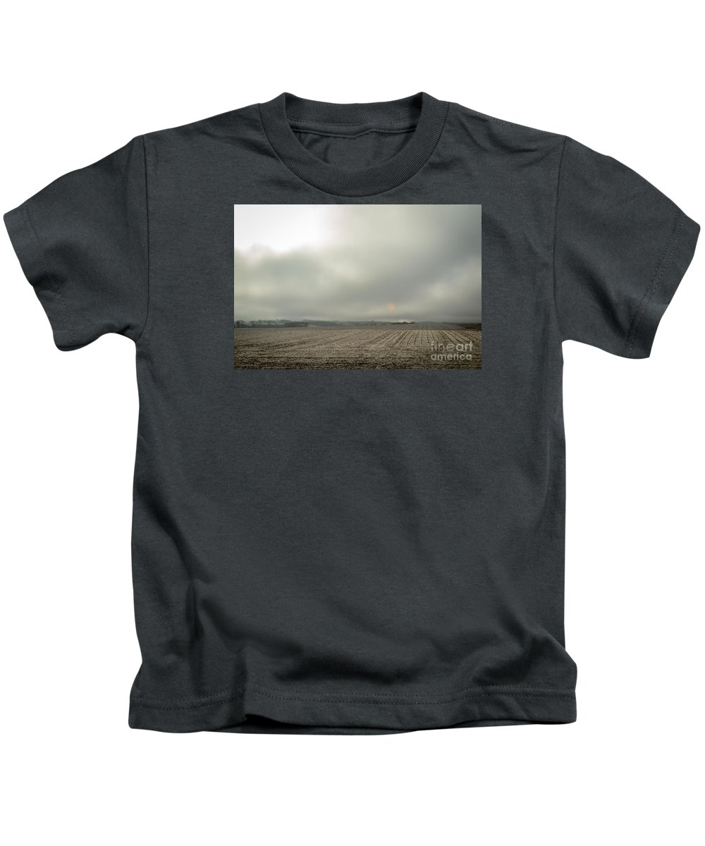 Fog Kids T-Shirt featuring the photograph Sunny Fog by Lisa Phillips