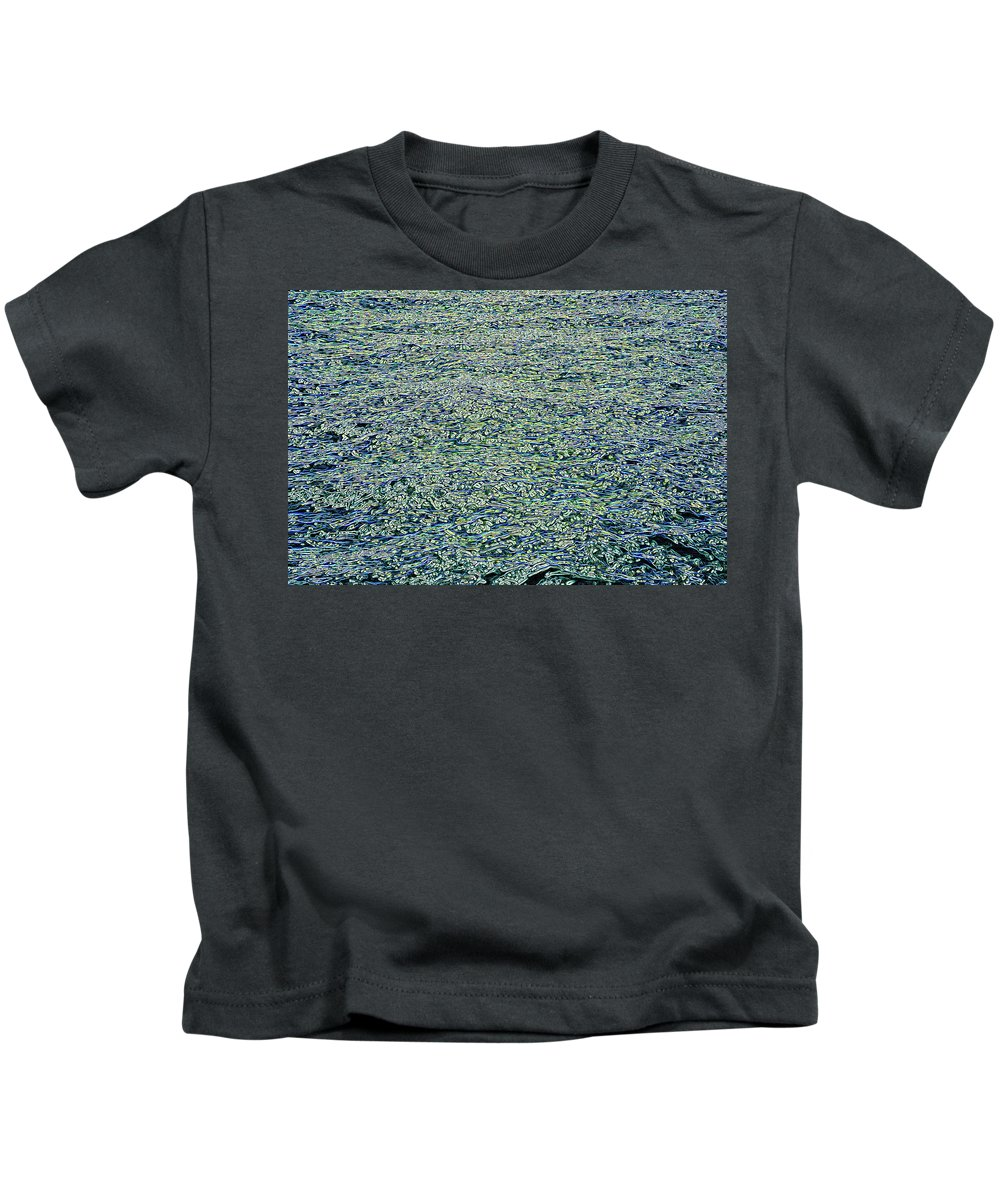 Background Kids T-Shirt featuring the photograph Sunrise Reflections by Art Phaneuf