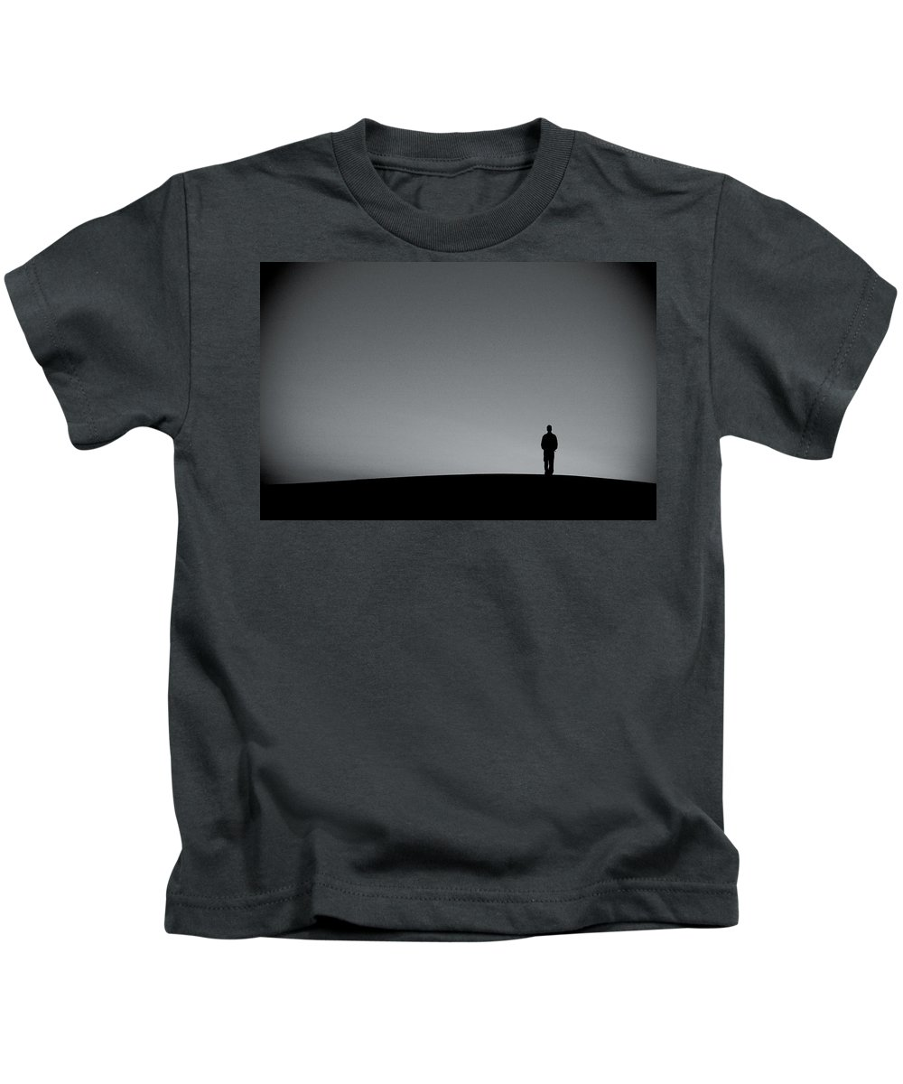 Silhouette Kids T-Shirt featuring the photograph Sunrise Silhouette by Scott Sawyer