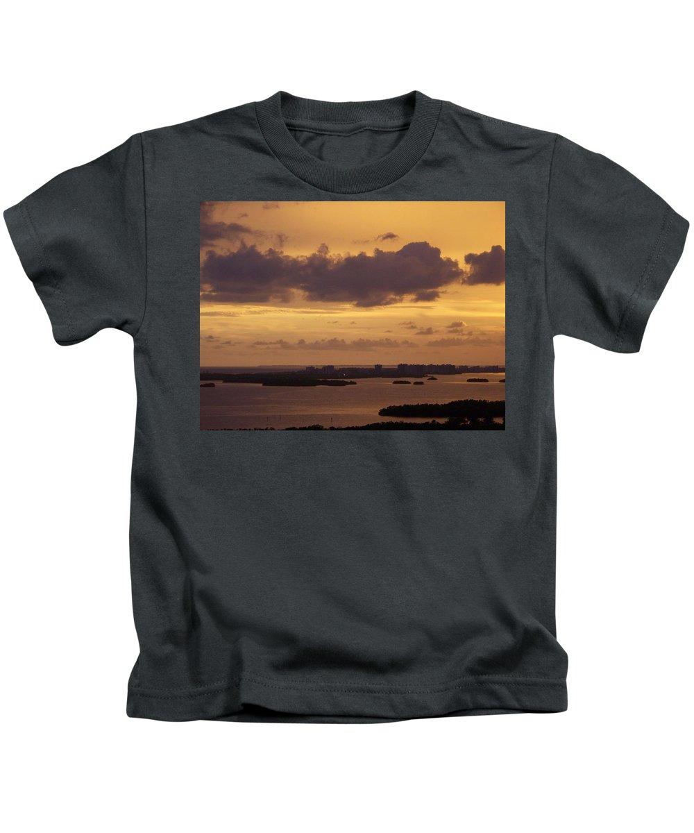 Sunset Kids T-Shirt featuring the photograph Sunset 0004 by Laurie Paci