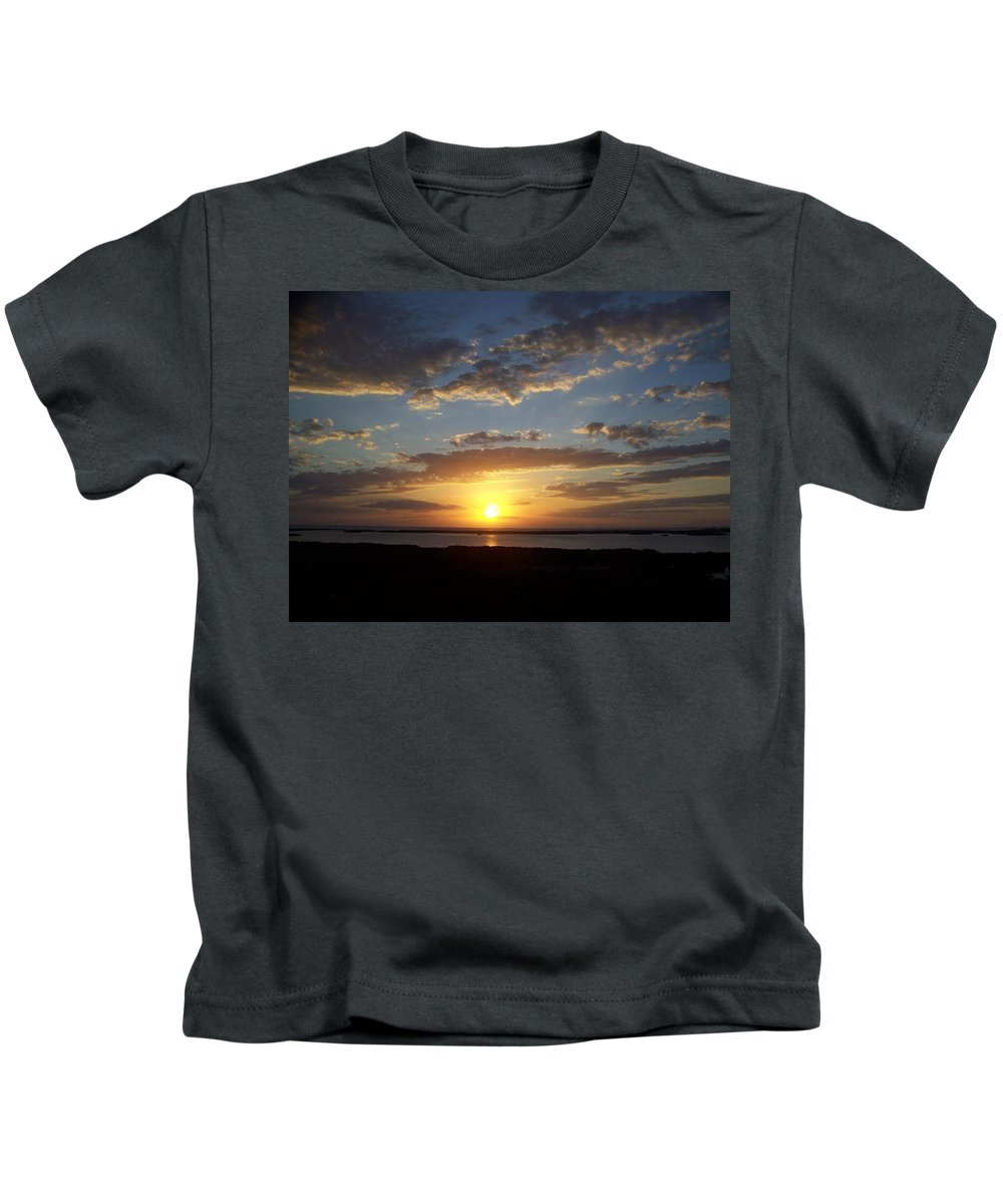 Sunset Kids T-Shirt featuring the photograph Sunset 0007 by Laurie Paci