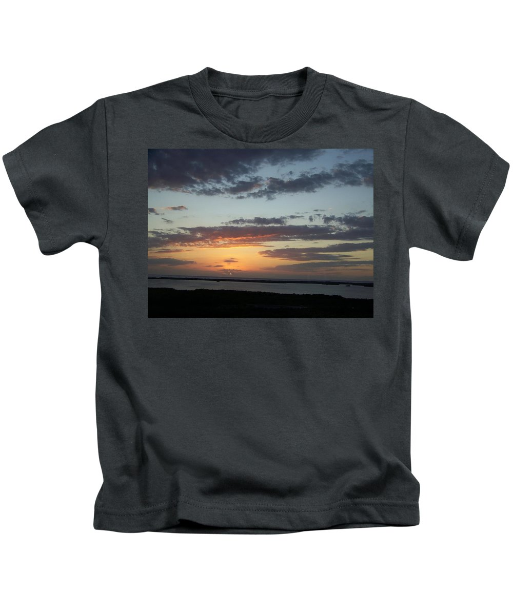 Sunset Kids T-Shirt featuring the photograph Sunset 0008 by Laurie Paci