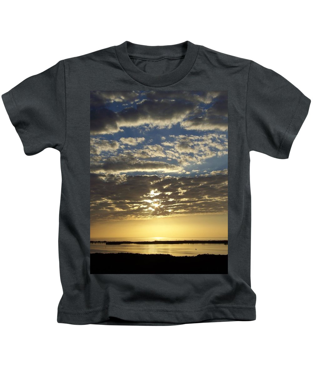 Sunset Kids T-Shirt featuring the photograph Sunset 0011 by Laurie Paci