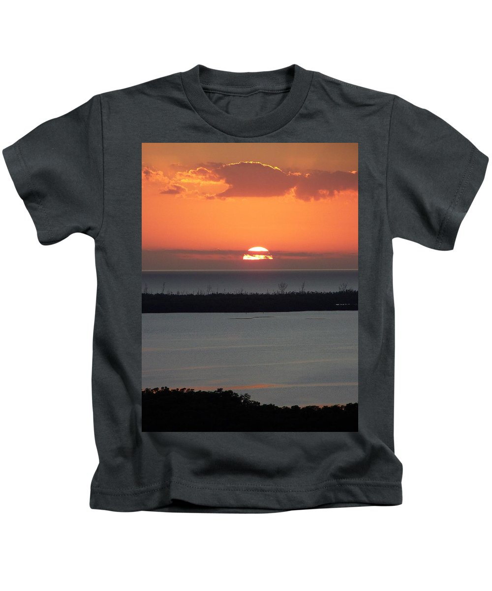 Sunset Kids T-Shirt featuring the photograph Sunset 0015 by Laurie Paci