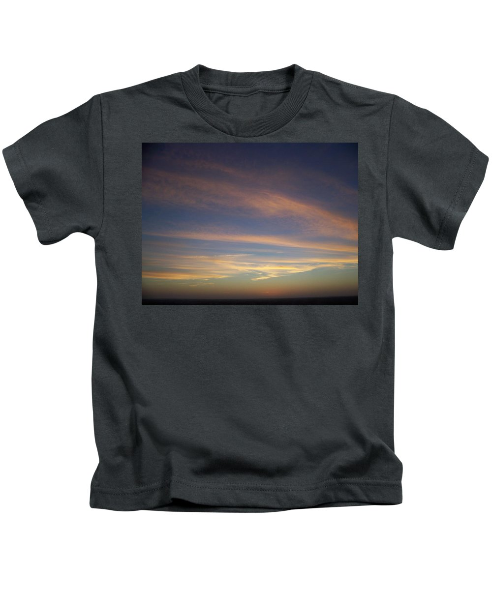Sunset Kids T-Shirt featuring the photograph Sunset 0039 by Laurie Paci