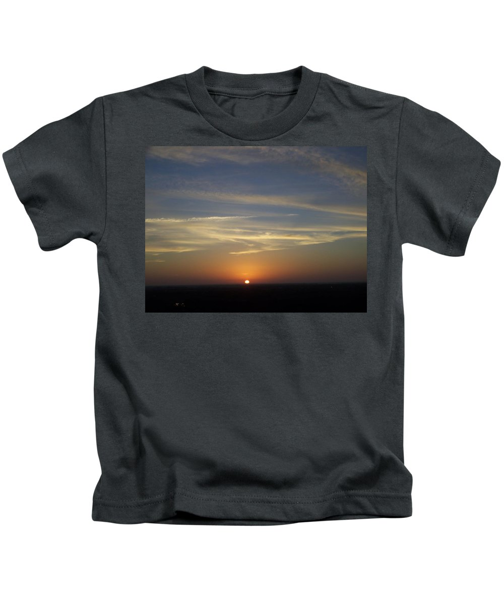 Sunset Kids T-Shirt featuring the photograph Sunset 0040 by Laurie Paci