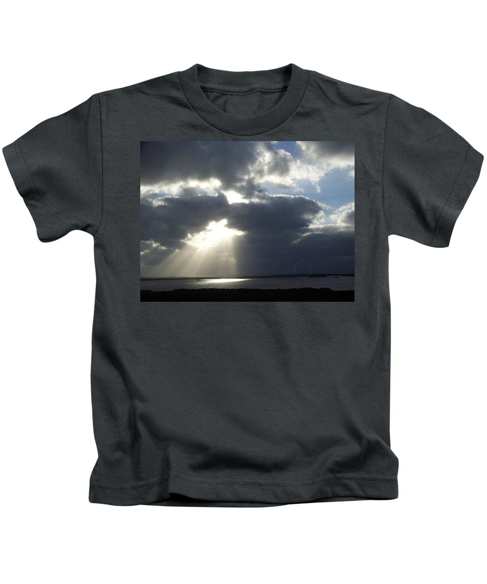 Sunset Kids T-Shirt featuring the photograph Sunset 0041 by Laurie Paci