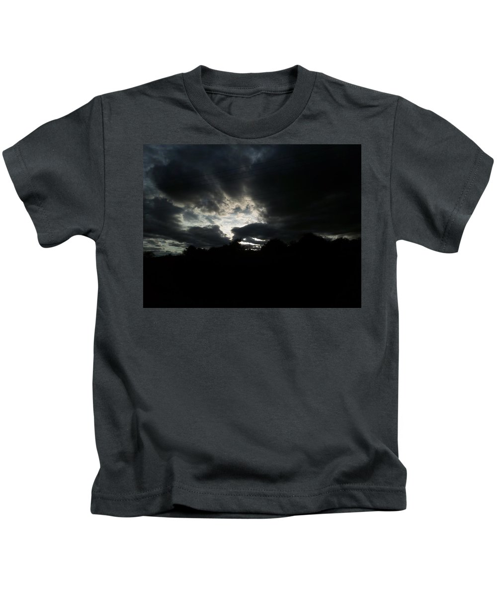Landscape Kids T-Shirt featuring the photograph Sunset Beauty At Tsavo East National Park by Joy Mala