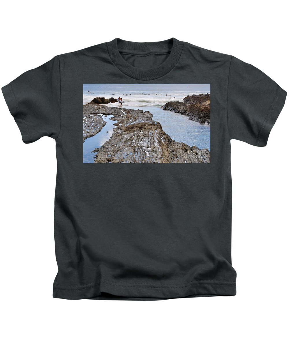 Gold Coast Kids T-Shirt featuring the photograph Surfers Waterways by Csilla Florida