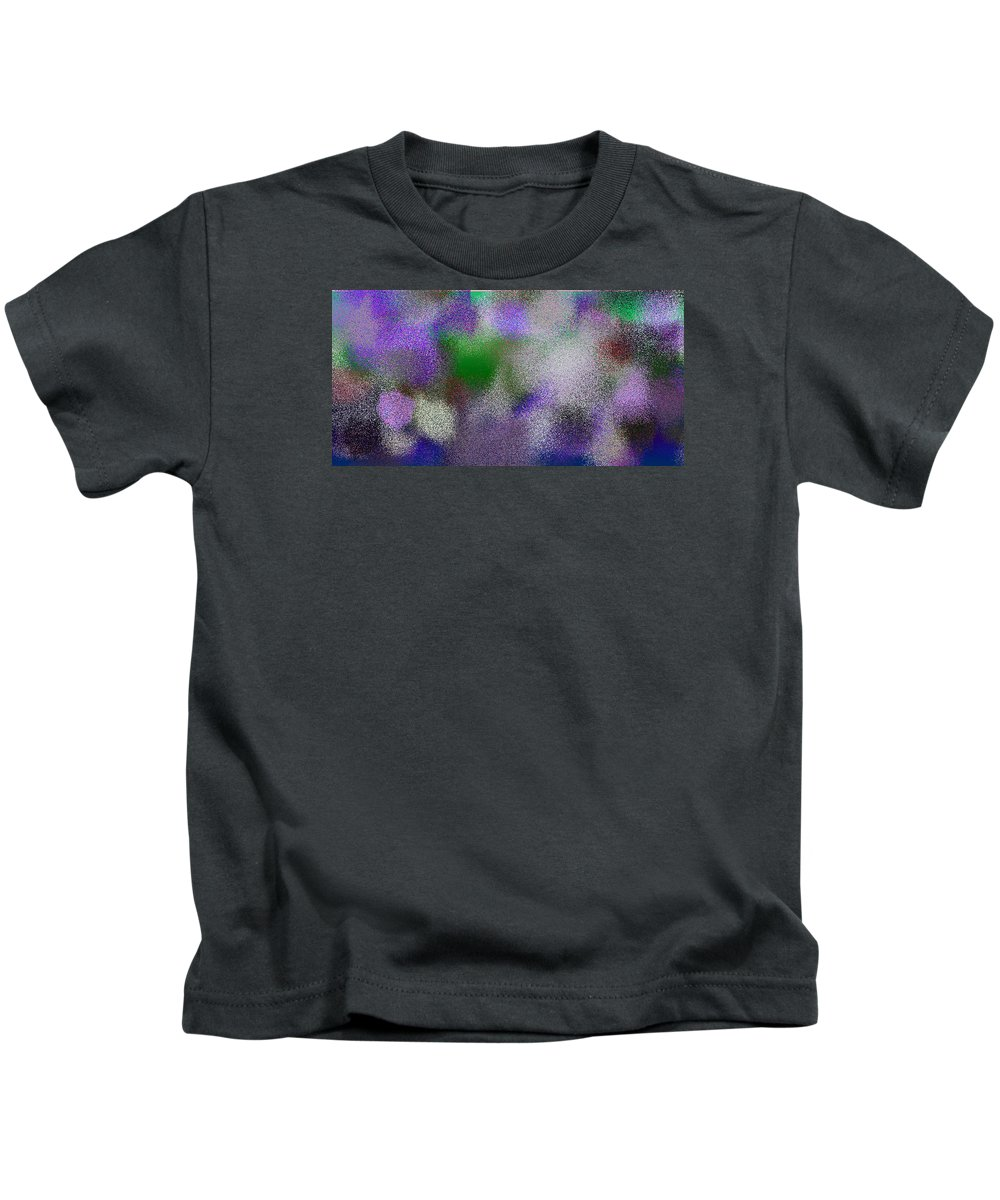 Abstract Kids T-Shirt featuring the digital art T.1.1219.77.2x1.5120x2560 by Gareth Lewis