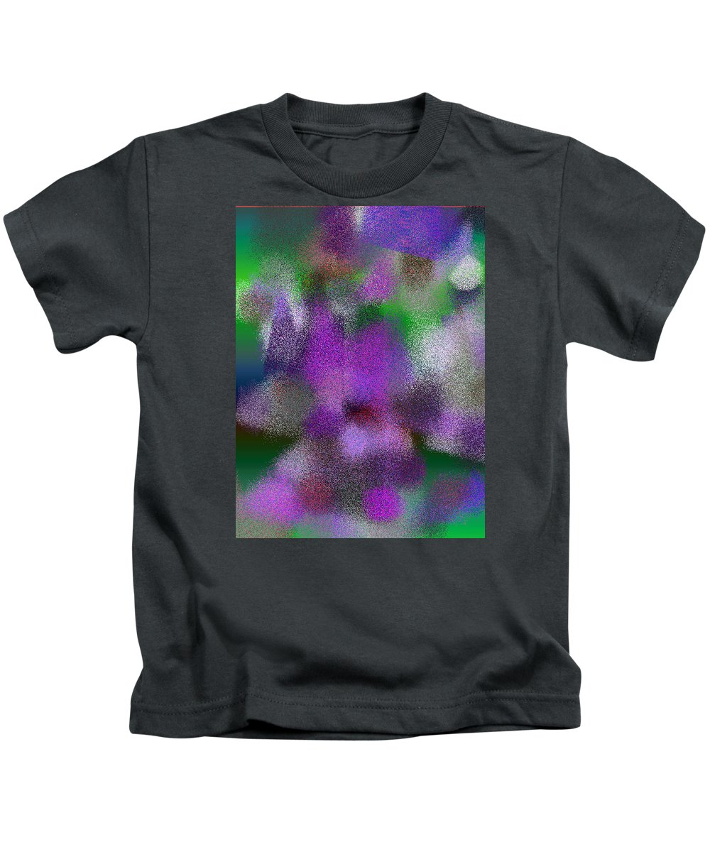 Abstract Kids T-Shirt featuring the digital art T.1.1240.78.3x4.3840x5120 by Gareth Lewis