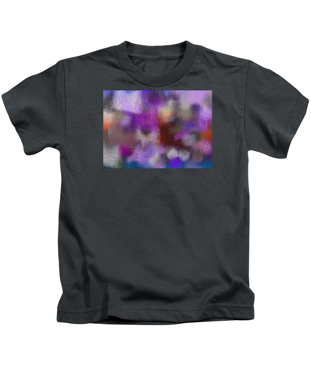 Abstract Kids T-Shirt featuring the digital art T.1.1247.78.7x5.5120x3657 by Gareth Lewis
