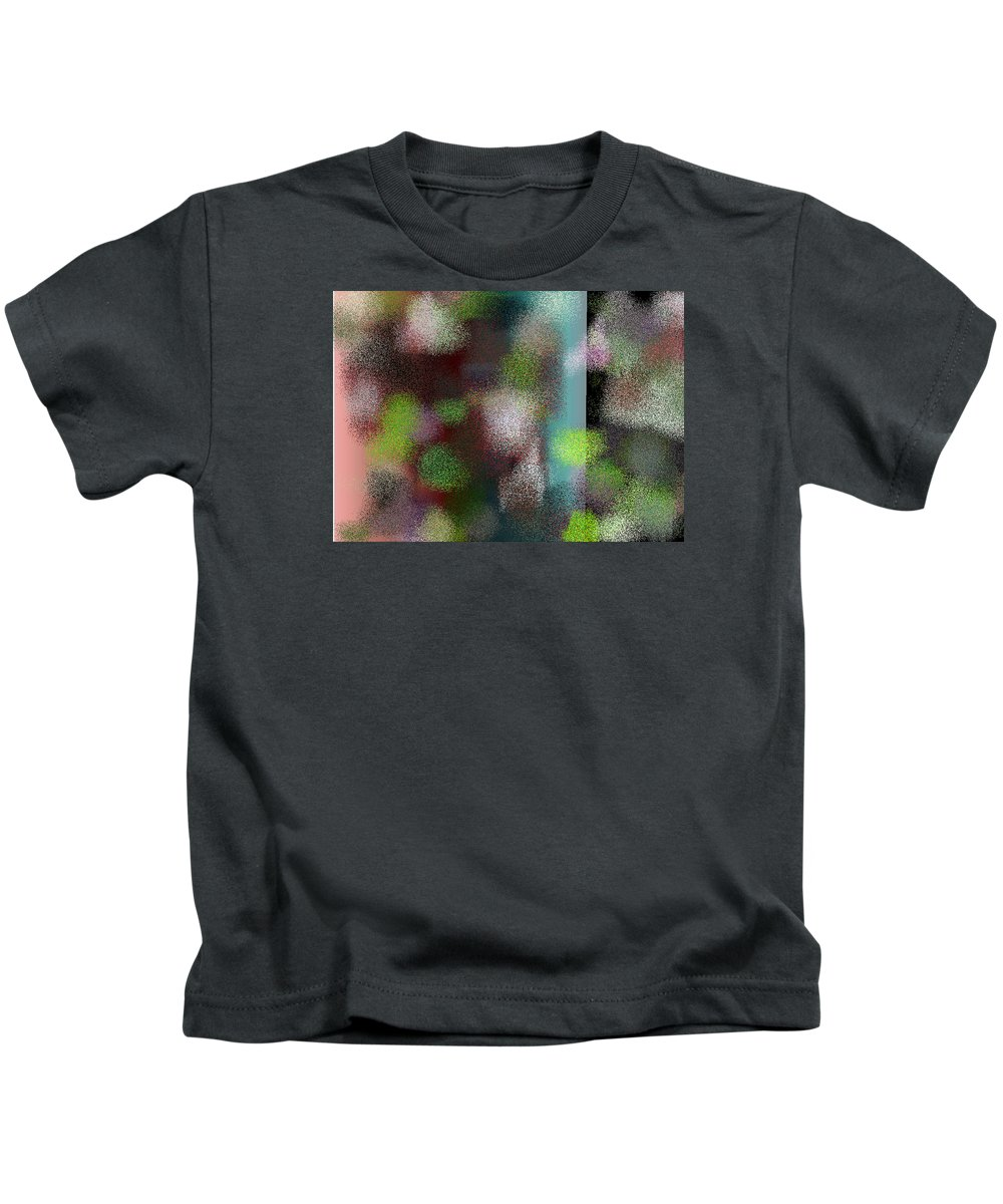 Abstract Kids T-Shirt featuring the digital art T.1.1279.80.7x5.5120x3657 by Gareth Lewis