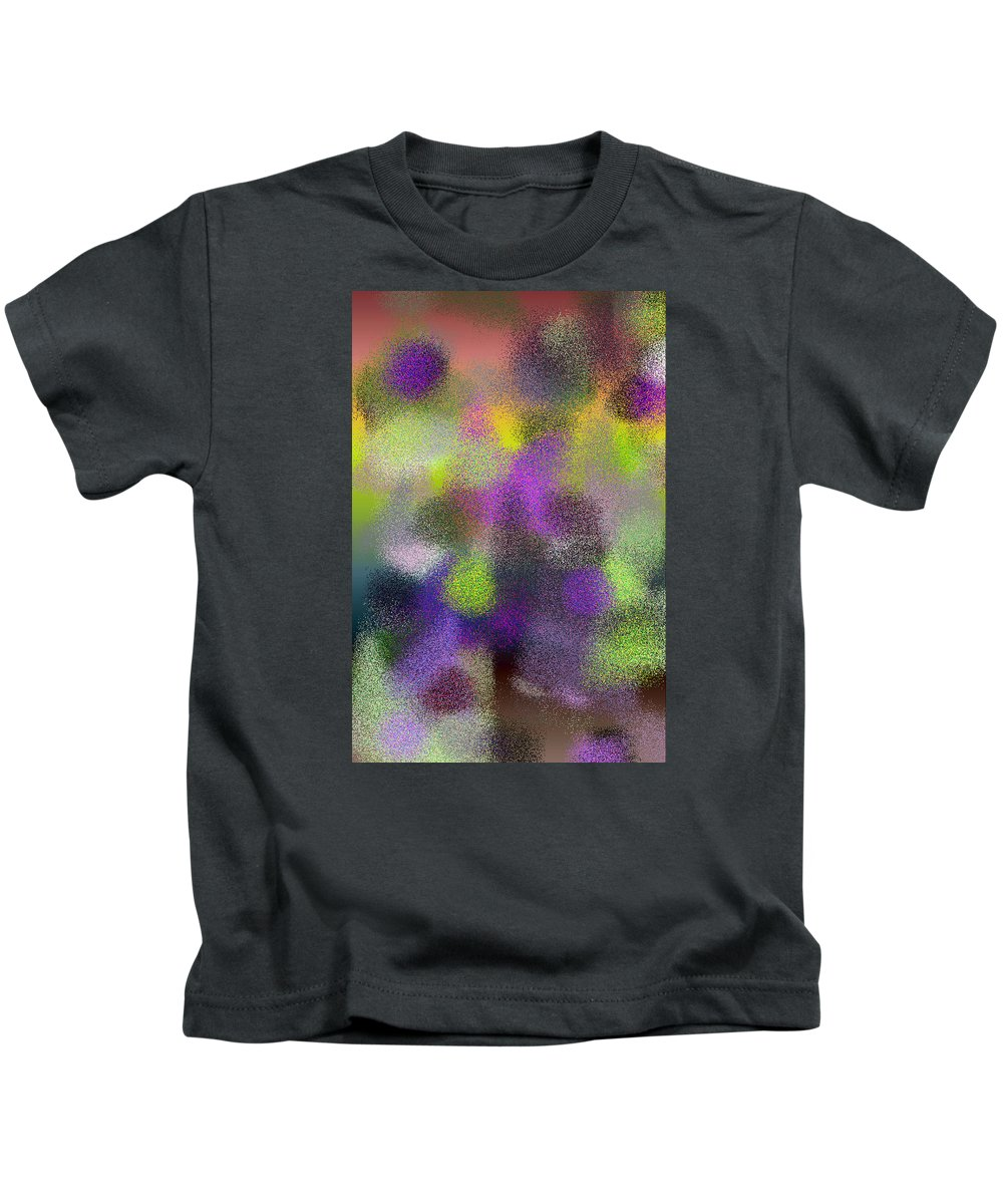 Abstract Kids T-Shirt featuring the digital art T.1.1286.81.2x3.3413x5120 by Gareth Lewis