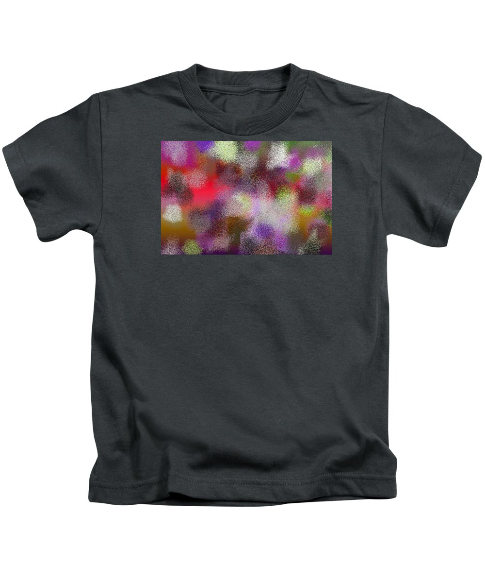 Abstract Kids T-Shirt featuring the digital art T.1.1287.81.3x2.5120x3413 by Gareth Lewis