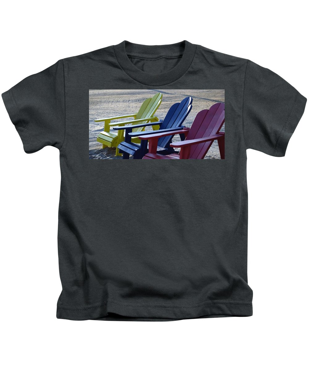 Beach Kids T-Shirt featuring the photograph Take Your Pick by John Glass