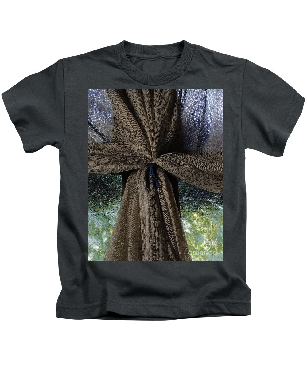 Texture Kids T-Shirt featuring the photograph Texture And Lace by Peter Piatt
