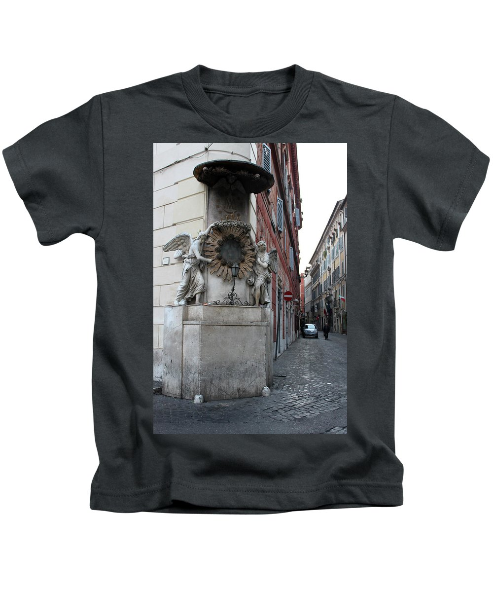Alley Kids T-Shirt featuring the photograph The Alley by Munir Alawi