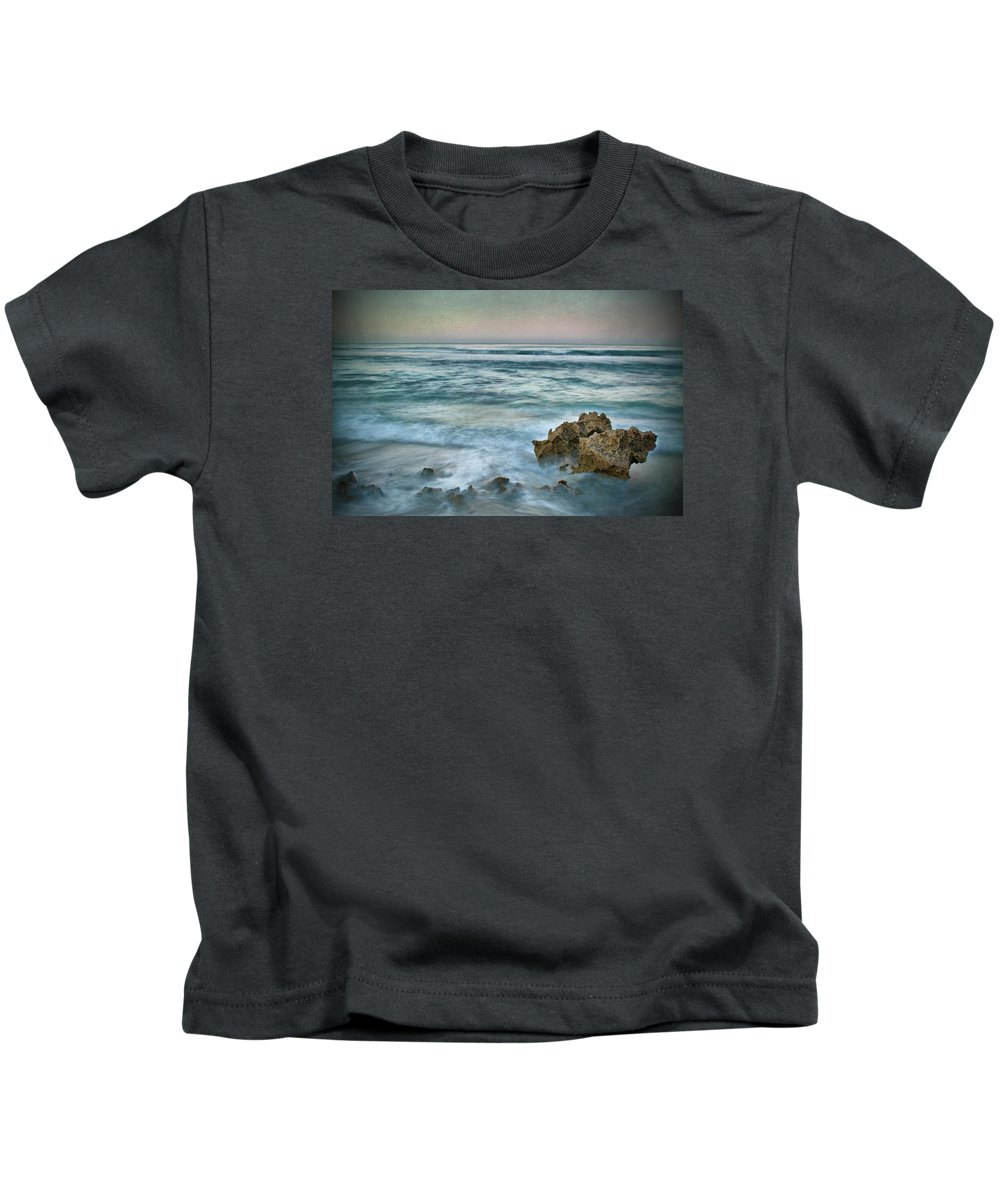 Dawn Kids T-Shirt featuring the photograph The Allure Of Morning by Kym Clarke