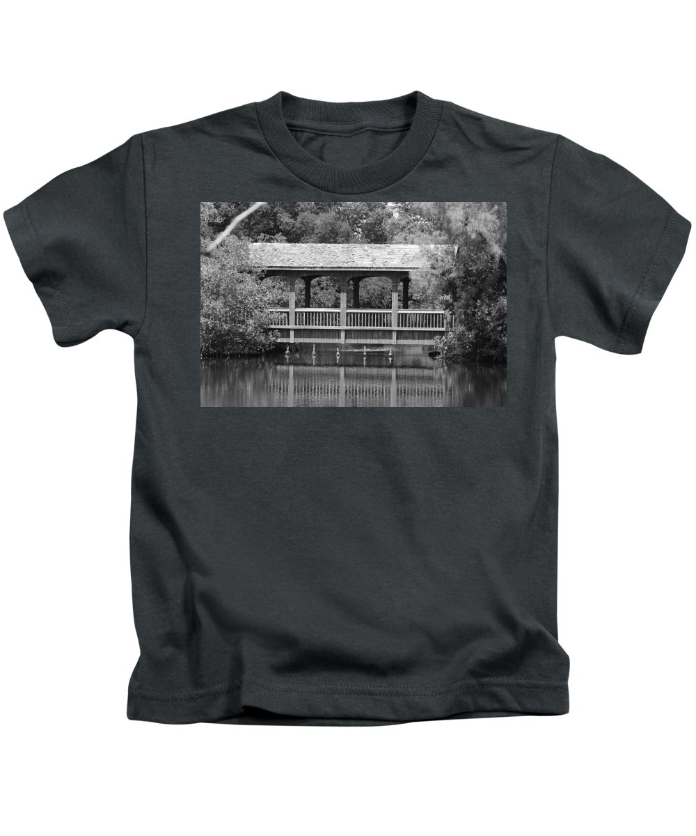 Architecture Kids T-Shirt featuring the photograph The Bridges Of Miami Dade County by Rob Hans