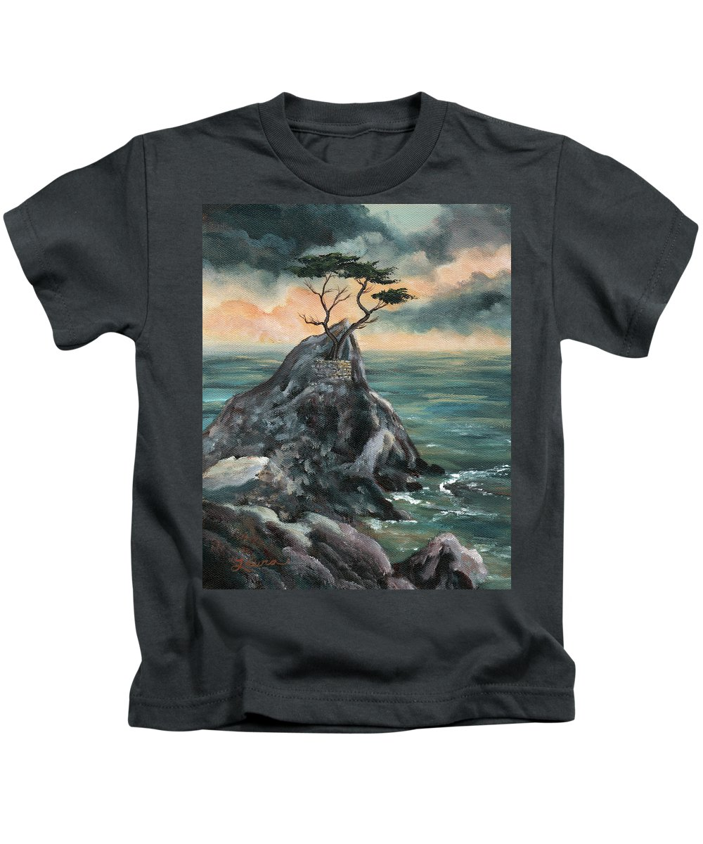 California Kids T-Shirt featuring the painting The Coming Light by Laura Iverson