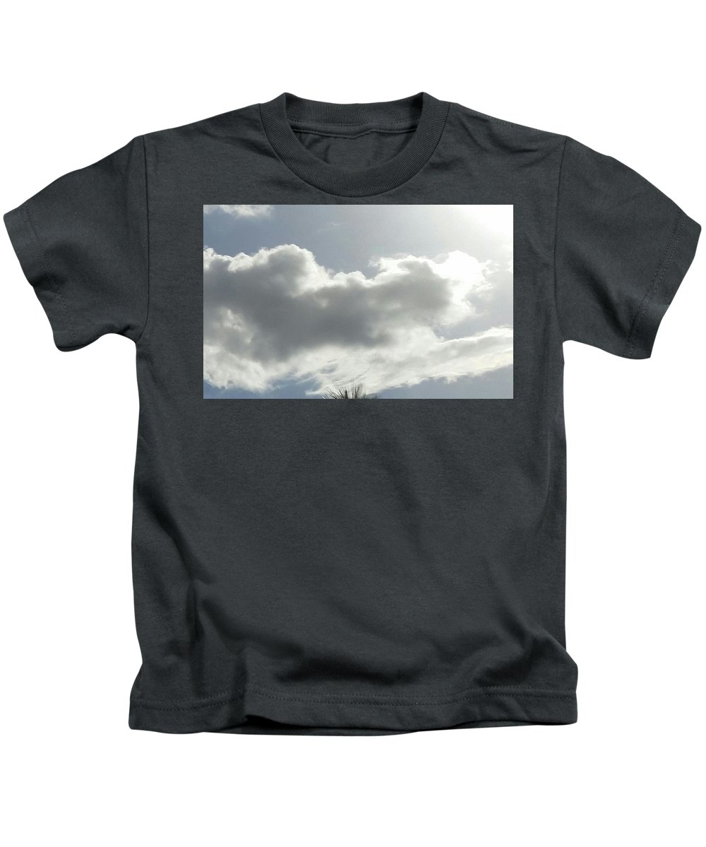 Kids T-Shirt featuring the photograph The Crime by John Garcia