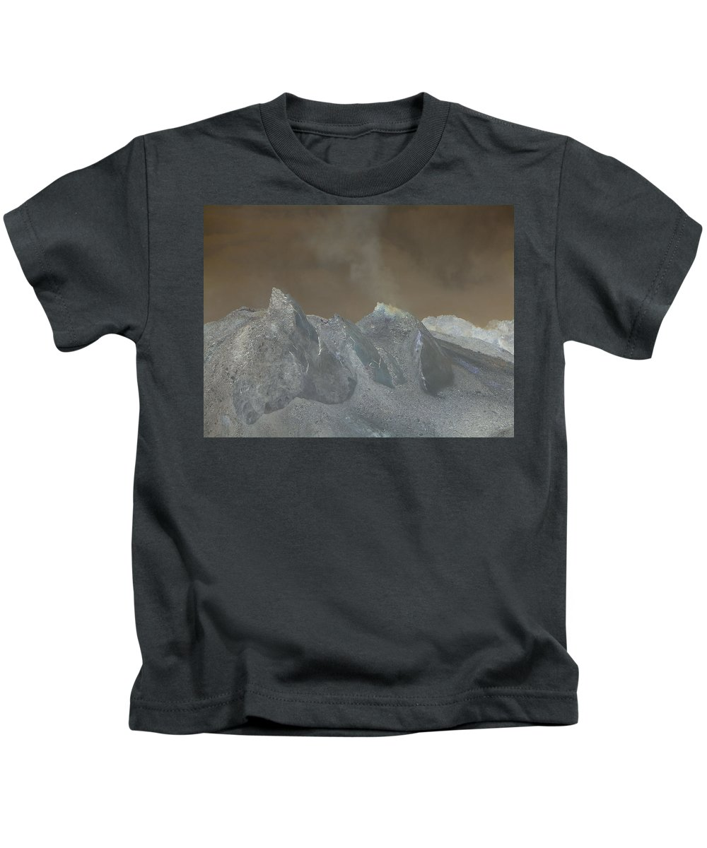 Dome Kids T-Shirt featuring the photograph The Dome Of Mt St Helens by Jeff Swan