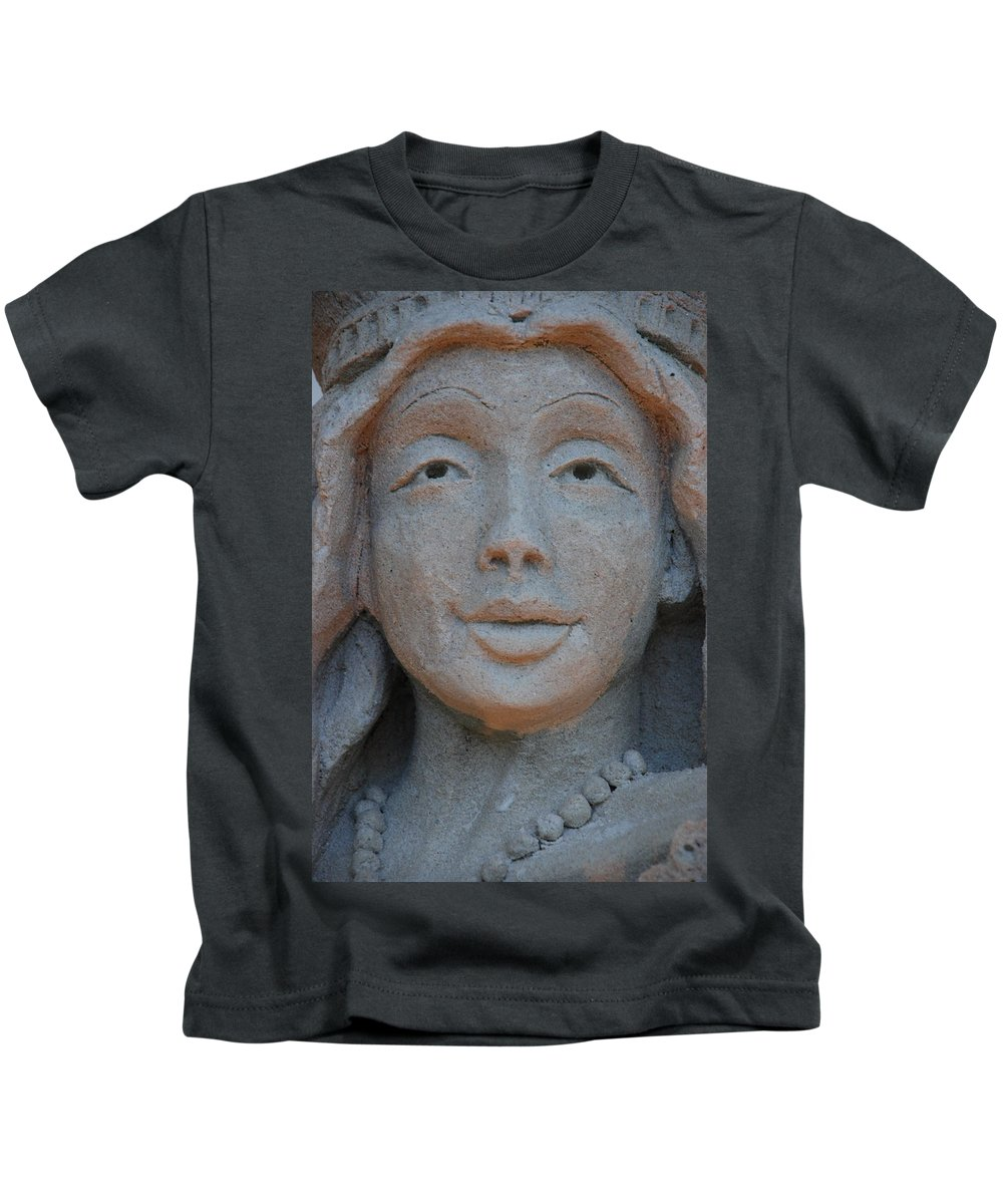 Sand Kids T-Shirt featuring the photograph The Face by Rob Hans
