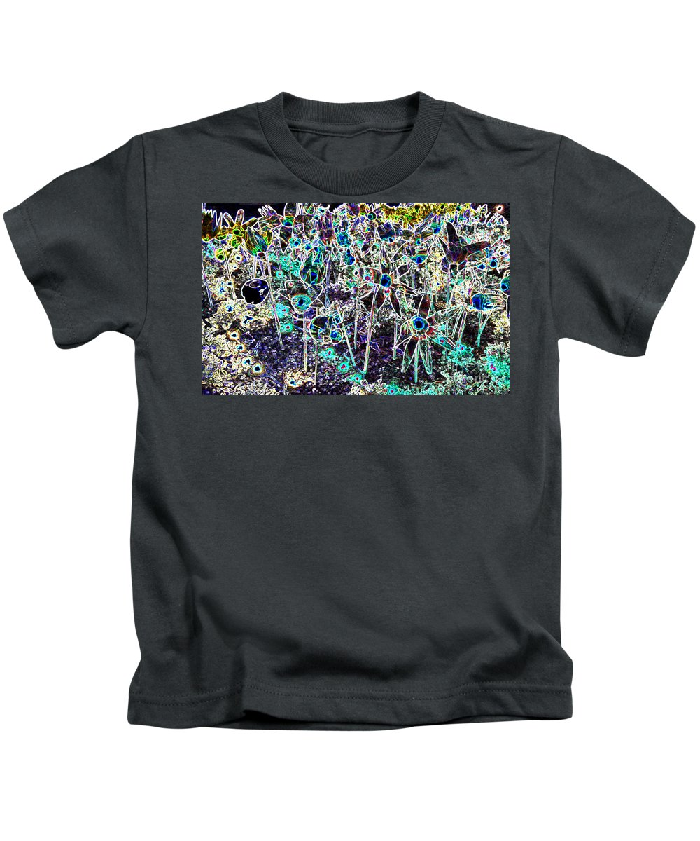 Kids T-Shirt featuring the photograph The Garden by Michael Moore