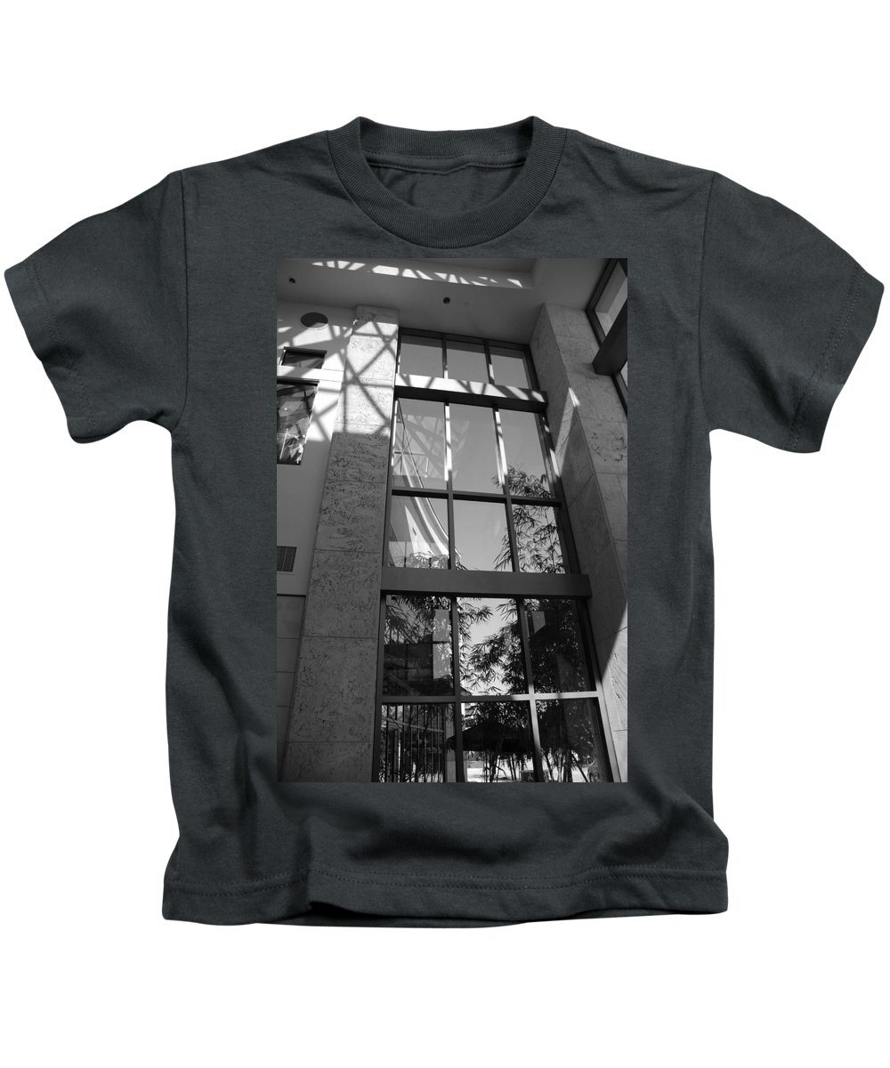 Sun Kids T-Shirt featuring the photograph The Glass Window by Rob Hans