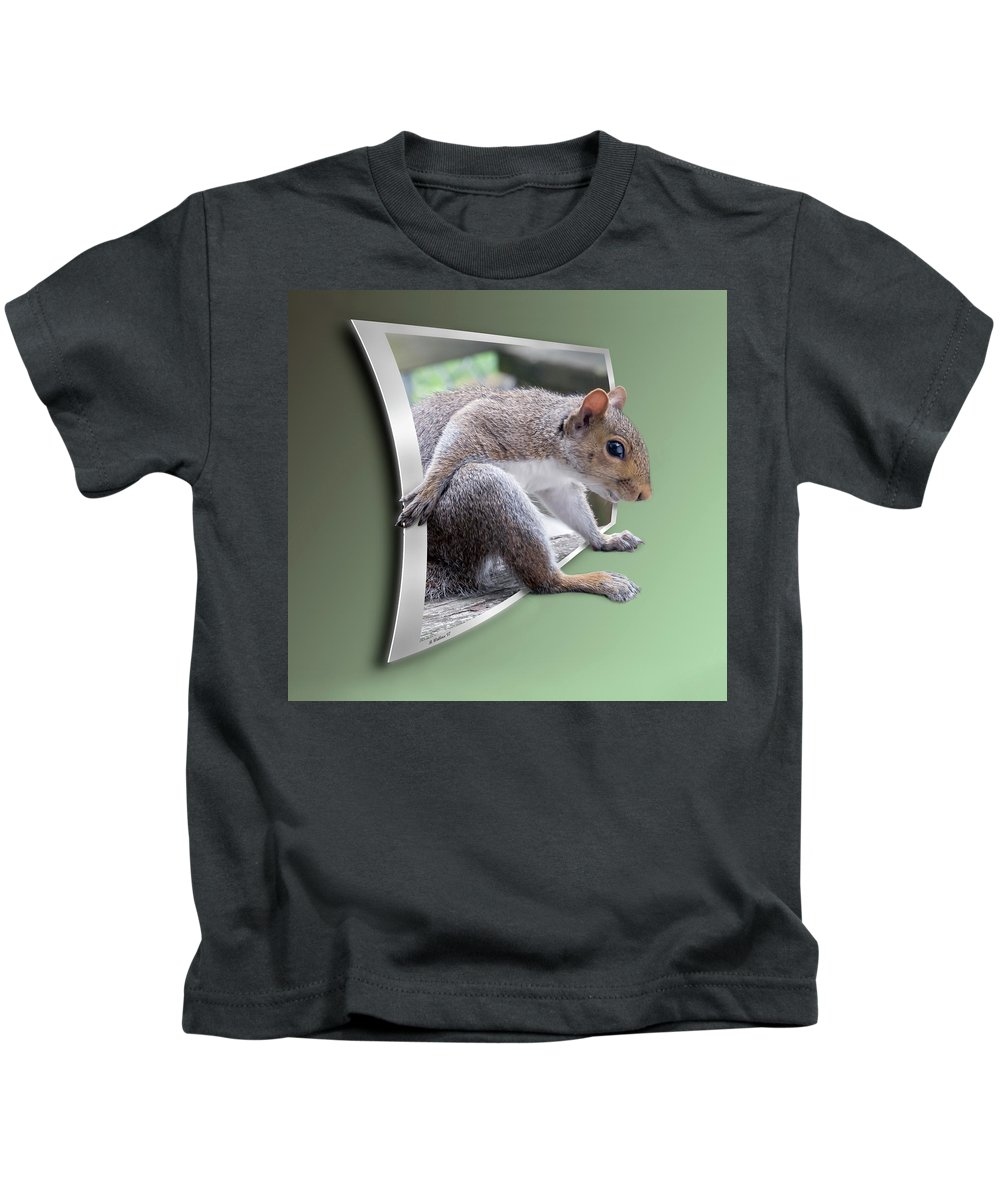 2d Kids T-Shirt featuring the photograph The Great Escape by Brian Wallace