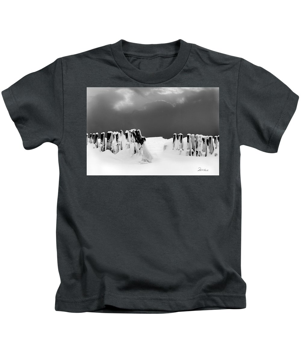 Photography Kids T-Shirt featuring the photograph The Last Stand by Frederic A Reinecke