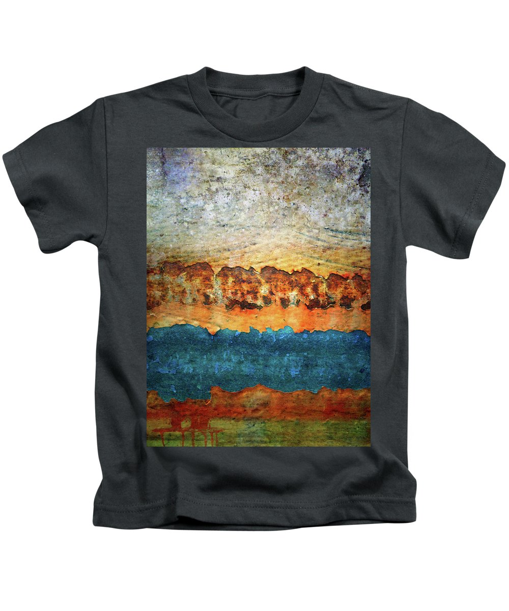 Urban Kids T-Shirt featuring the photograph The Layers by Tara Turner