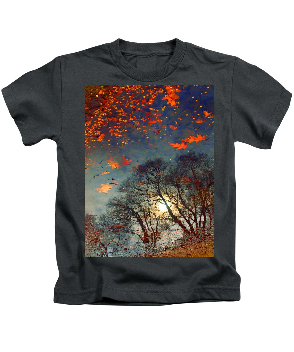 Puddle Kids T-Shirt featuring the photograph The Magic Puddle by Tara Turner