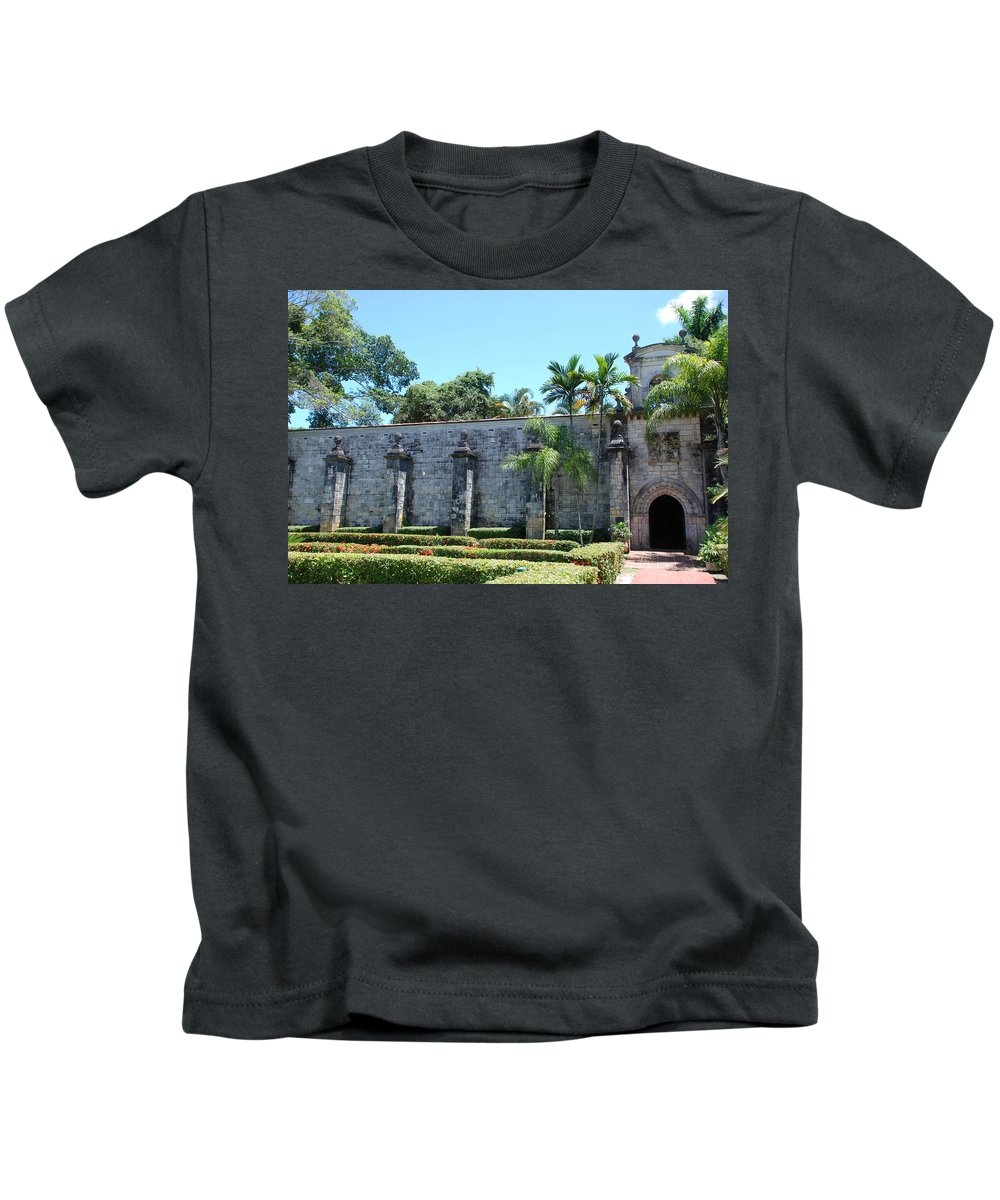 Florida Kids T-Shirt featuring the photograph The Miami Monastery by Rob Hans