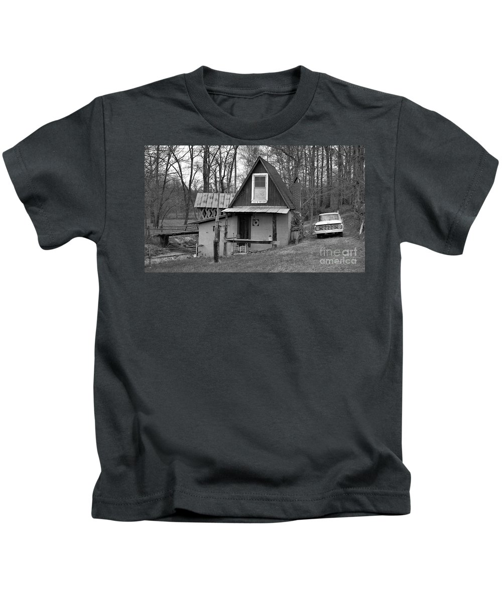 Mill Kids T-Shirt featuring the photograph The Old Mill by Richard Rizzo