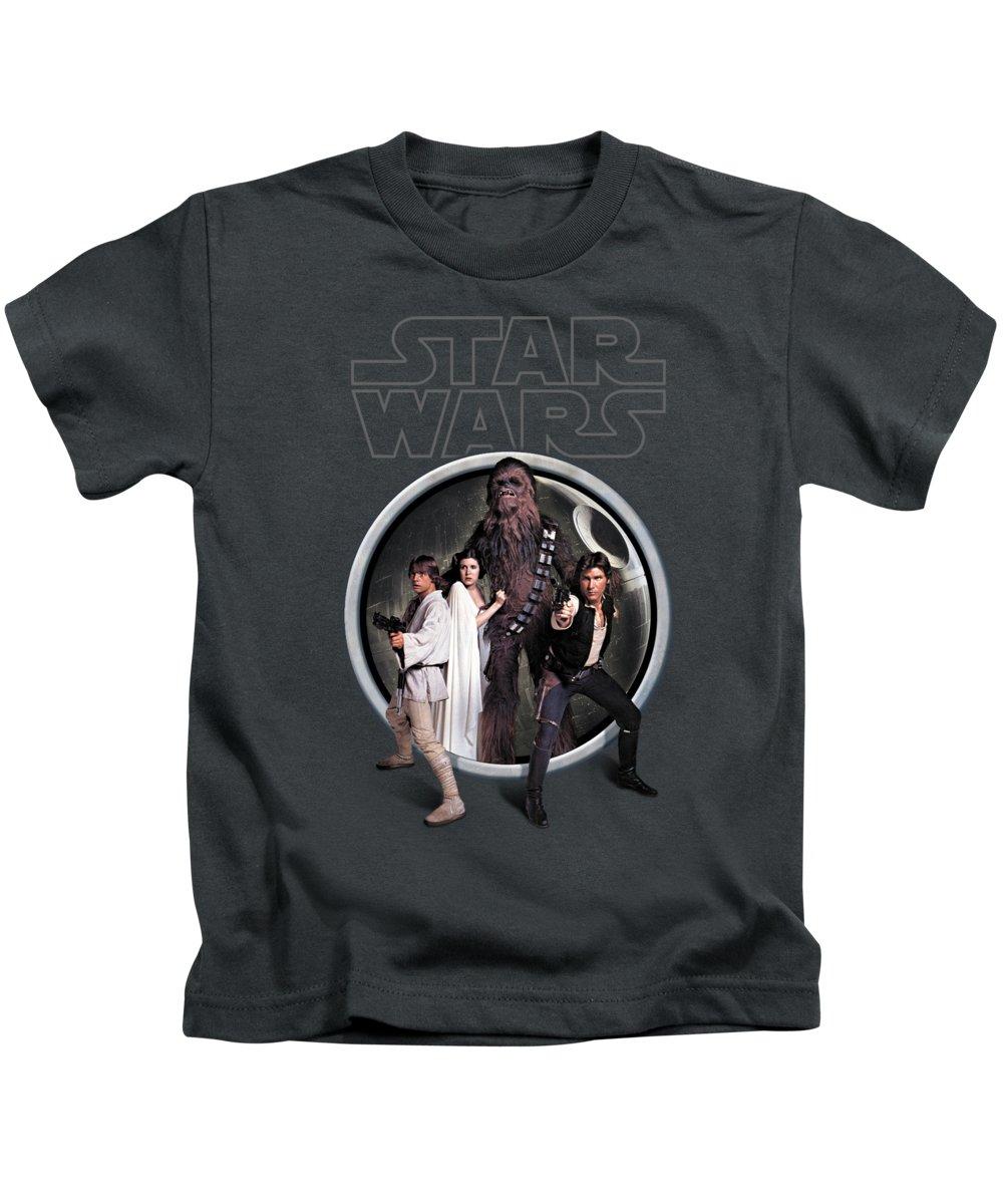 Episode Iv Kids T-Shirts