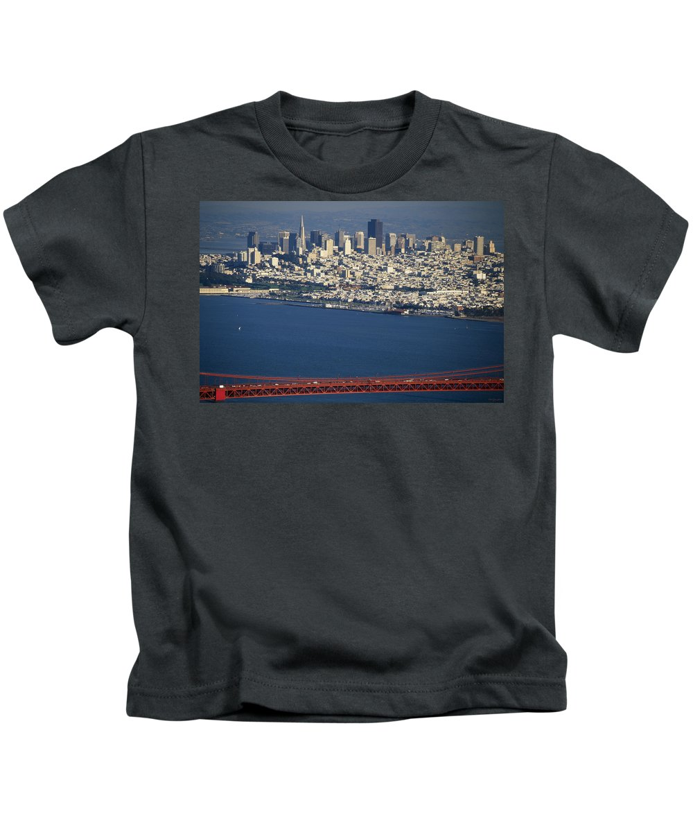 San Francisco Ca. Kids T-Shirt featuring the photograph The San Francisco Zoo by Soli Deo Gloria Wilderness And Wildlife Photography