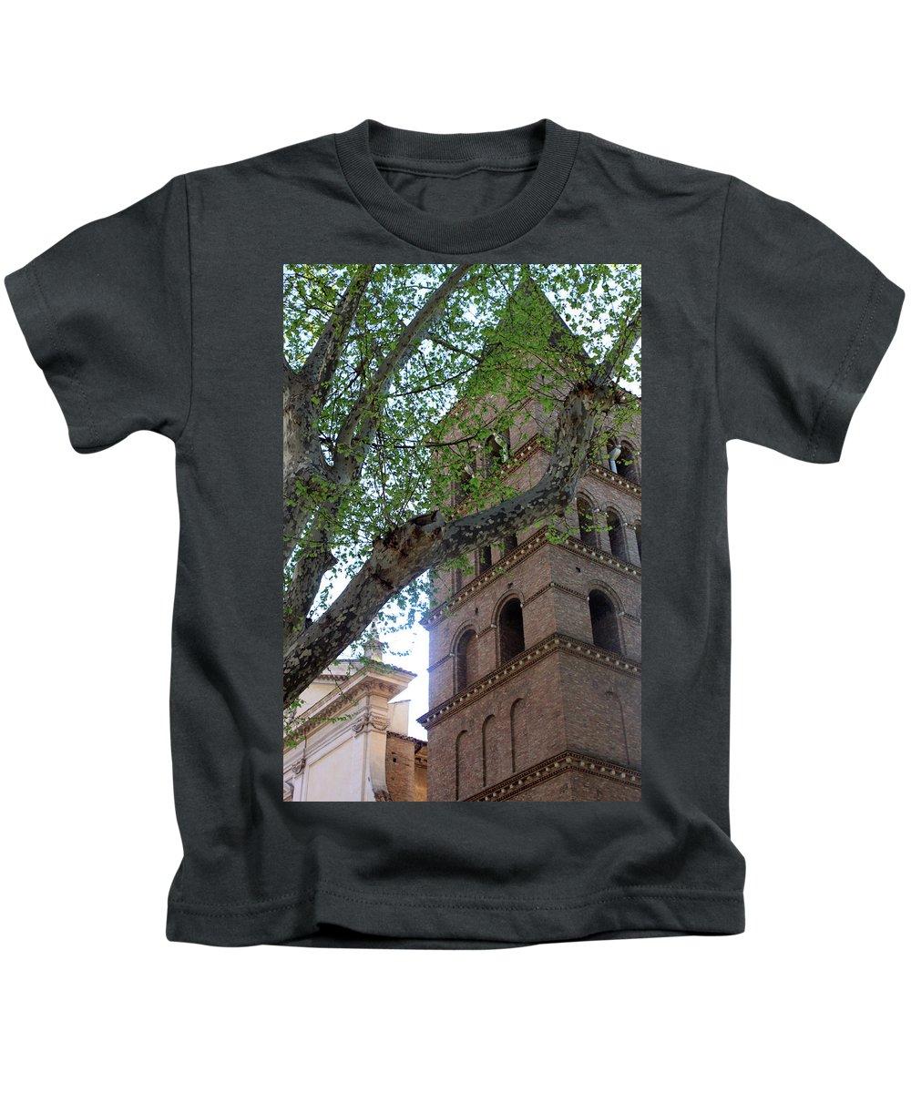 Church Kids T-Shirt featuring the photograph The Shade by Munir Alawi