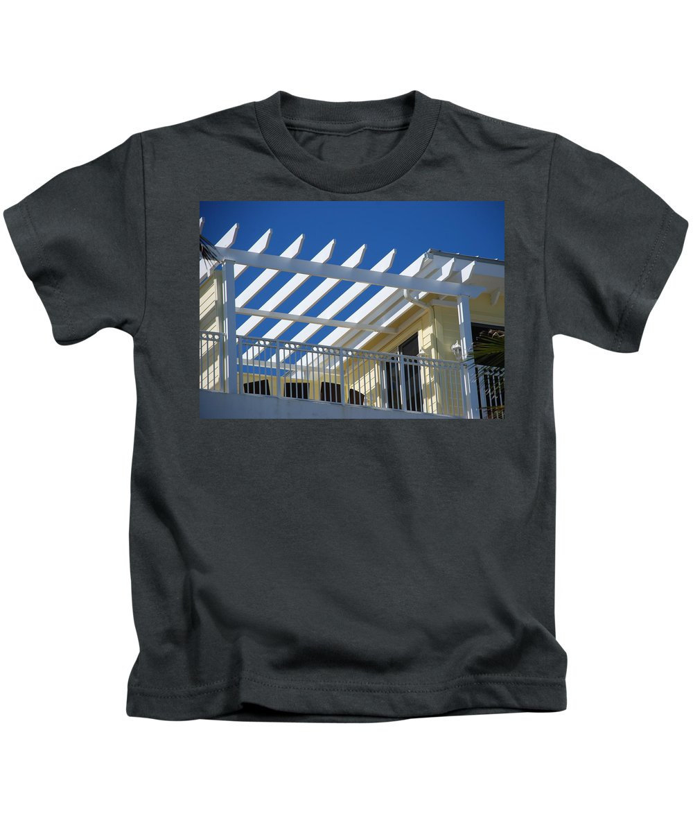 Architecture Kids T-Shirt featuring the photograph The Slots by Rob Hans