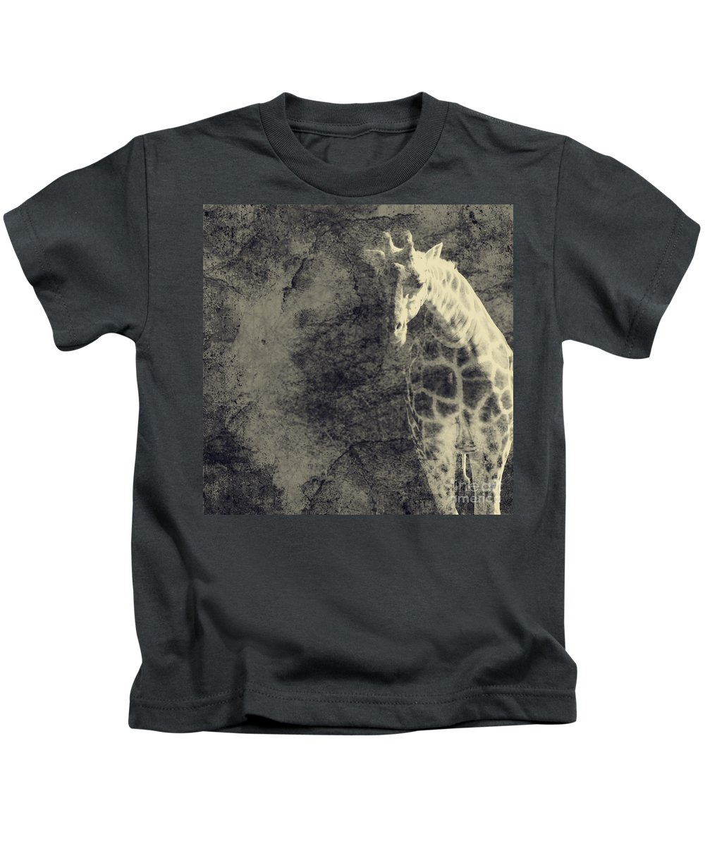 Dipasquale Kids T-Shirt featuring the photograph ...the Vast Expanses Of The Earth by Dana DiPasquale