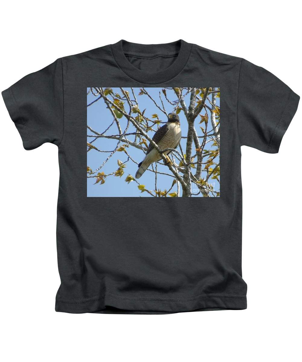 Birds Kids T-Shirt featuring the photograph The View From Above Vi by Silvana Miroslava Albano