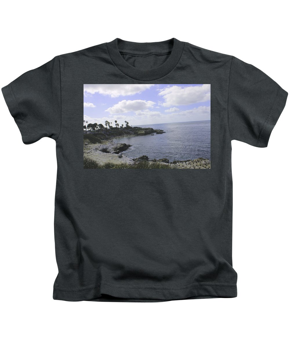Ocean Kids T-Shirt featuring the photograph The View by Guillermo Mason