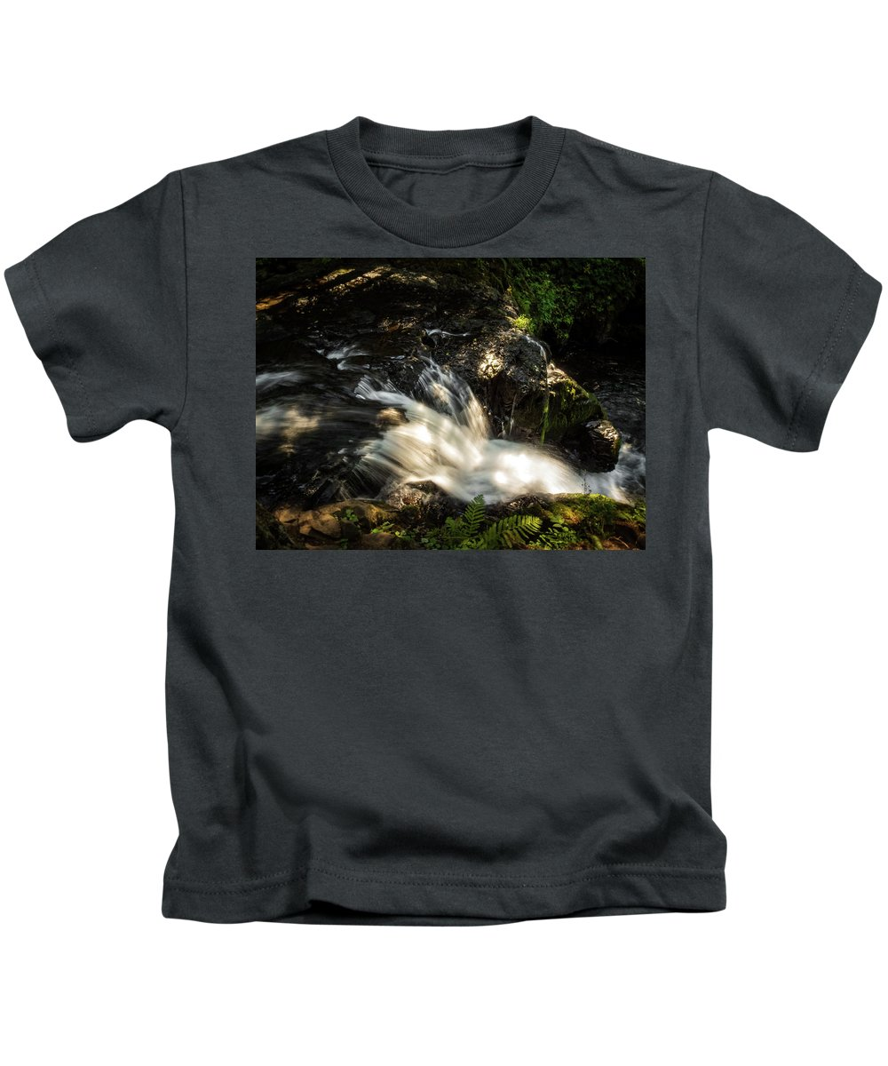 Landscape Kids T-Shirt featuring the photograph The View by Kylee K